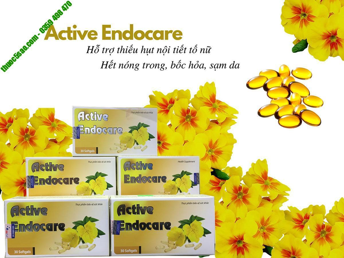 Active Endocare - Bổ sung và cân bằng nội tiết tố nữ - Thuốc 5 sao - Uy  tín, chất lượng, chính hãng