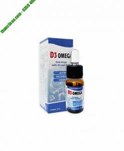 D3 Omega hỗ trợ tăng trưởng chiều cao