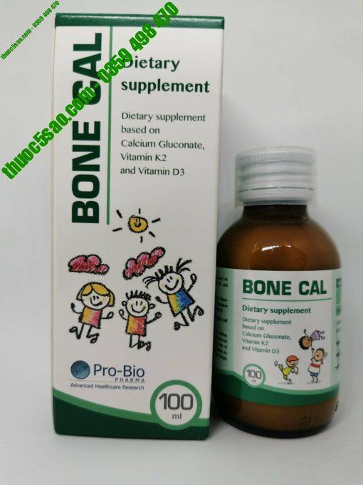 Bone Cal 100ml, vitamin K2