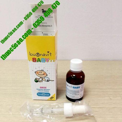 Vitamin Tổng Hợp Buonavit Baby Cho Bé Phát Triển Toàn Diện