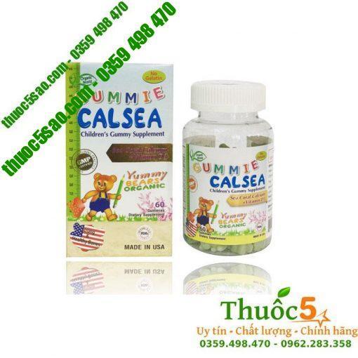 Gummie Calsea - Tăng chiều cao nhờ canxi từ san hô và vitamin D3