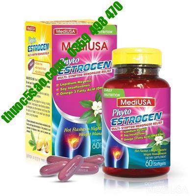 MediUSA Phyto Estrogen bổ sung nội tiết tố, giúp da đẹp, căng mịn