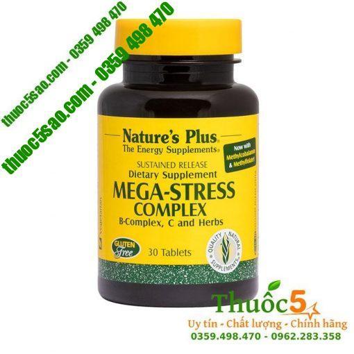 Mega Stress hỗ trợ và chống stress, suy nhược cơ thể