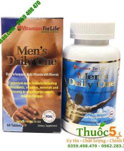 Men's daily One - Bổ sung Vitamin và khoáng chất cần thiết cho Nam giới