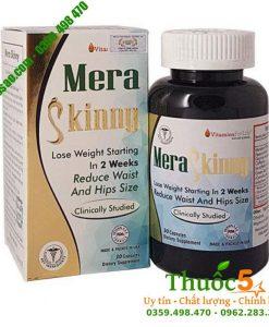 Mera Skinny - Hỗ trợ giảm cân an toàn từ thảo dược hàng Mỹ