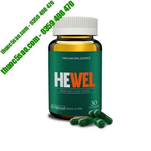 Hewel- Giải độc gan, men gan, gan nhiễm mỡ, tăng cường chức năng gan,