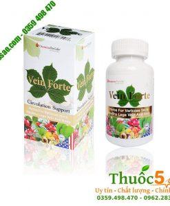 Vein Forte - Phòng ngừa và điều trị suy giãn tĩnh mạch và trĩ