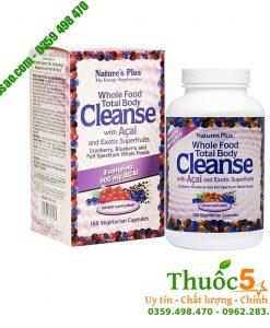 Whole Food Total Body Cleanse - Thanh lọc giải độc cơ thể, giải độc gan, mật