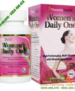 Women's daily One - Bổ sung Vitamin hằng ngày cho phụ nữ