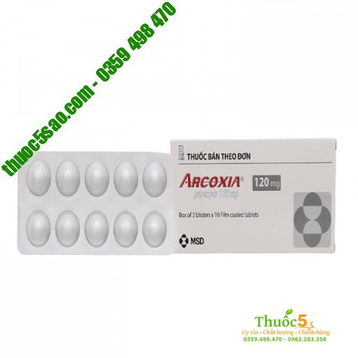 Thuốc Arcoxia 120mg