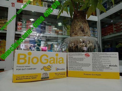 BioGaia Protectis tablets men vi sinh hỗ trợ tiêu hóa ở trẻ