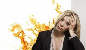 bốc hỏa ở phụ nữ