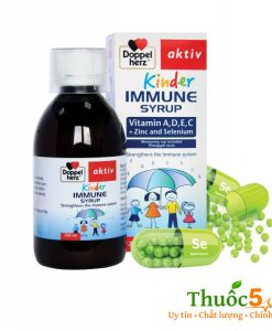 Doppelherz Kinder Immune syrup siro nâng cao hệ miễn dịch