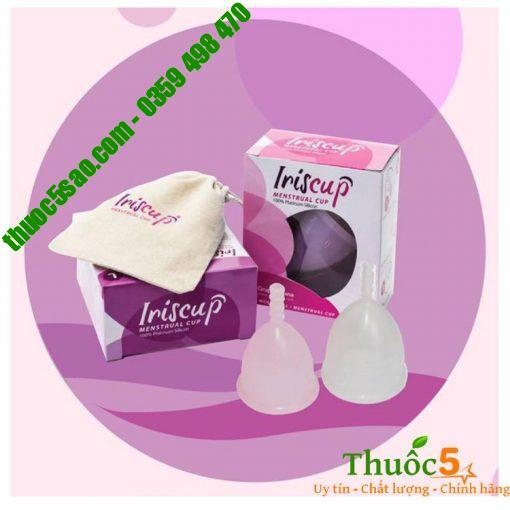 Cốc nguyệt san Iriscup Menstrual 100% silicon