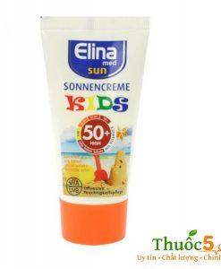 Kem Chống Nắng Trẻ Em SPF 50+ Elina Med Kids