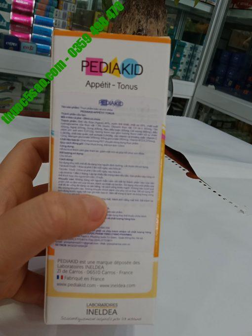 Pediakid Appetit Tonus kích thích cảm giác thèm ăn của trẻ