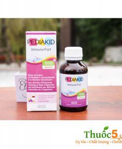 Pediakid Immuno-Fort vitamin tăng sức đề kháng cho trẻ