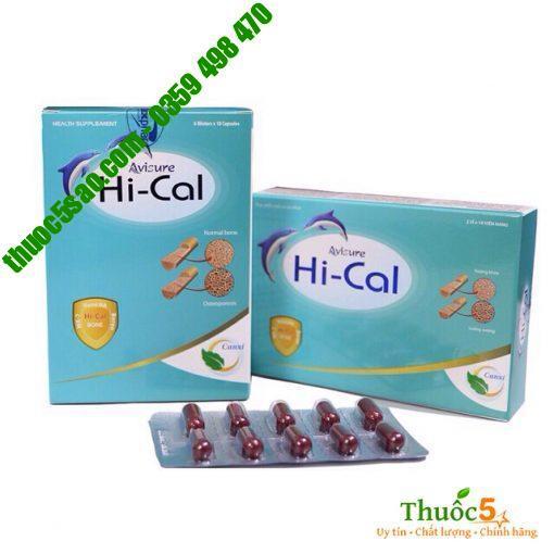 Avisure Hical chứa 100% nano Hydroxy apatite - Canxi tự nhiên trong xương và răng. Vì vậy hấp thu tốt nhất mà không cần chuyển hóa