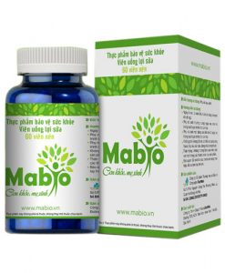 Mabio - Viên uống lợi sữa, hỗ trợ thông tắc tuyến sữa, nâng cao chất lượng sữa mẹ