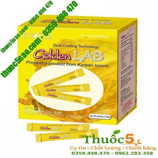 GOLDEN LAB bổ sung nhiều lợi khuẩn cho hệ tiêu hóa khỏe mạnh