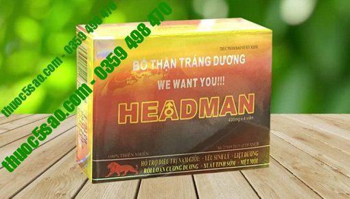 Headman Bổ Thận Tráng Dương Tăng Cường Sinh Lý Nam