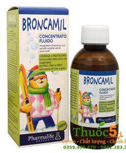 Broncamil Bimbi trị ho, giúp long đờm hiệu quả
