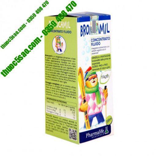 Broncamil Bimbi từ các thành phần thảo dược thiên nhiên, giảm ho hiệu quả, an toàn lành tính
