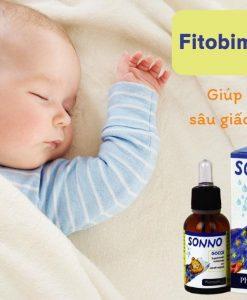 Fitobimbi Sonno Gocce được chiết xuất từ thảo dược an toàn cho trẻ sơ sinh và trẻ nhỏ