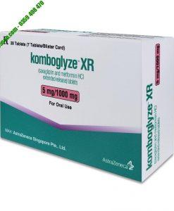 Komboglyze XR 5mg vừa chống tăng lượng đường huyết trong máu lại vừa hoạt động bổ sung, cải thiện tình trạng không kiểm soát được lượng đường huyết trong cơ thể