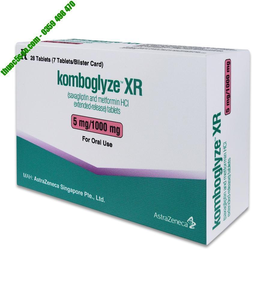 Komboglyze XR 5mg