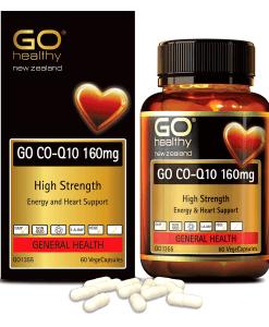 GO CO-Q10 160mg hỗ trợ sức khỏe tim mạch