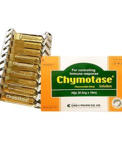 Chymotase hỗ trợ điều trị nhiễm trùng do vi khuẩn hay virus