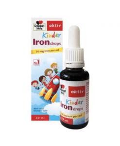 Iron Drops Doppelherz Aktiv giúp giảm thiếu máu do thiếu sắt