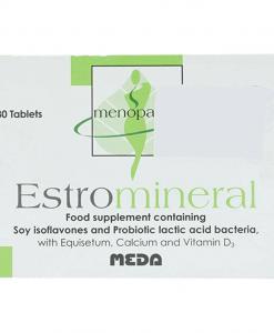 Estromineral cải thiện chứng tiền mãn kinh hộp 30 viên
