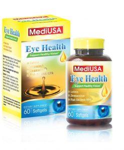 MediaUSA Eye Health giúp bổ mắt, tăng cường thị lực