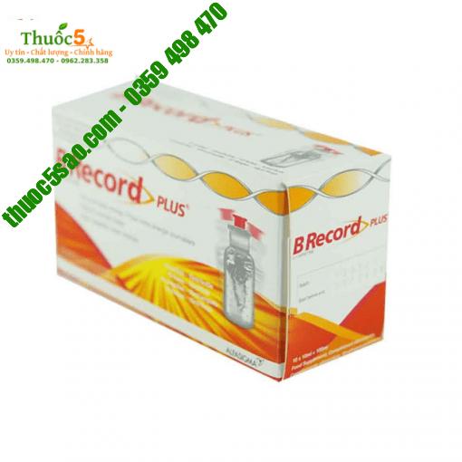 B Record Plus - cung cấp axit amin, vitamin, bổ sung năng lượng cho cơ thể