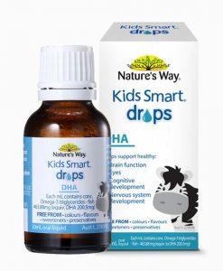 Kids Smart Drops DHA Siro bổ sung DHA cho bé chai 20ml