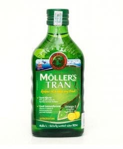 Moller's Tran dầu gan cá tuyết cho não bé chai 250ml