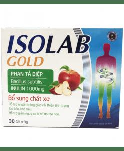 Isolab Gold giúp bổ sung chất xơ tự nhiên cho cơ thể