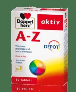 A – Z Depot viên uống bồi bổ sức khỏe hộp 30 viên