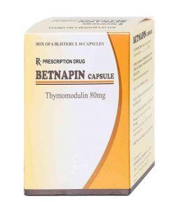 Betnapin hỗ trợ đường hô hấp hộp 6 vỉ x 10 viên
