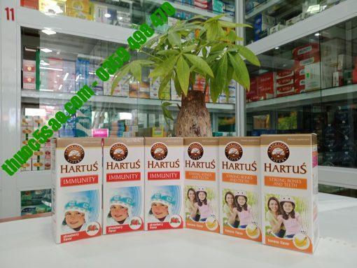 Hartus' Immunity tăng sức đề kháng cho trẻ lọ 150ml