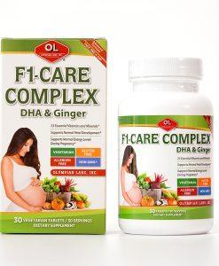 F1-CARE COMPLEX vitamin tổng hợp bà bầu hộp 30 viên