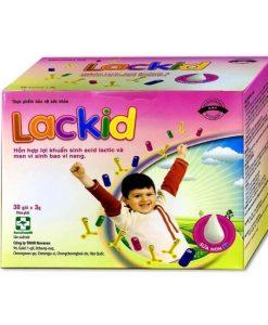 Lackid bổ sung lợi khuẩn, hỗ trợ hệ tiêu hóa hộp 30 gói