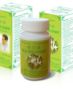 Nga Phụ Khang cải thiện u nang buồng trứng hộp 60 viên