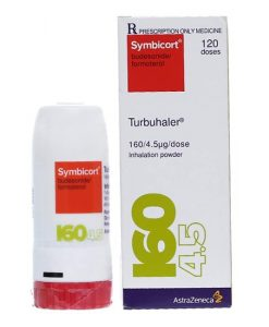 Symbicort Turbuhaler hỗ trợ hen suyễn bình xịt 60 liều