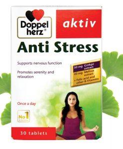 Anti Stress hỗ trợ giảm căng thẳng, tăng trí nhớ hộp 30 viên