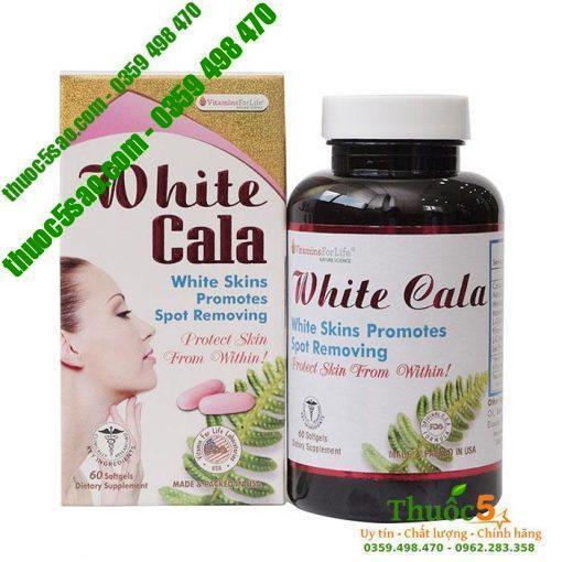 White Cala giúp chống nắng tự nhiên, sáng da, bảo vệ da.