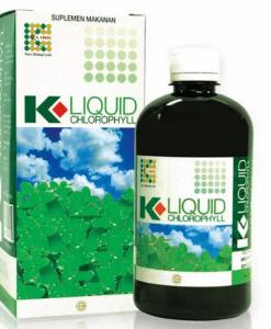 K-Liquid Chlorophyll giúp thanh lọc, giải độc cơ thể