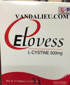 Elovess hỗ trợ điều trị sạm da, nám da hộp 60 viên